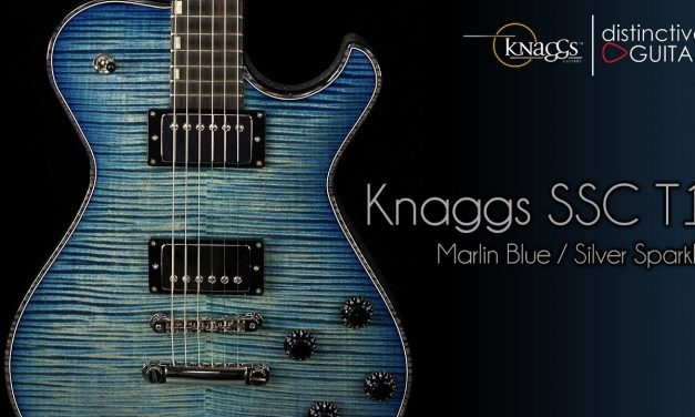 Knaggs SSC Tier 1 | Marlin Blue & Silver Sparkle