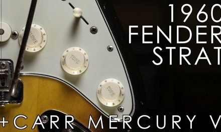 """Pick of the Day"" – 1960 Fender Stratocaster and Carr Mercury V"