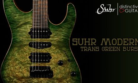 Suhr Modern Custom | Trans Faded Green Burst