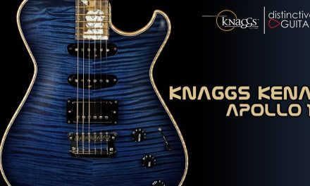 Knaggs Kenai Tier 1 | Apollo 11 Midnight Blue HSS w/ Severn Headstock
