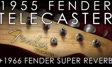 """Pick of the Day"" – 1955 Fender Telecaster and 1966 Super Reverb"