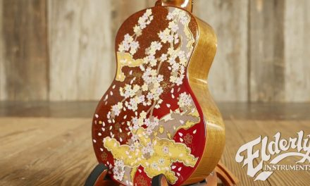 "Kiwaya 100th Anniversary Limited Edition ""Spring"" Concert Ukulele 