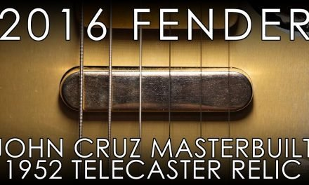 """Pick of the Day"" – 2016 Fender Masterbuilt John Cruz 1952 Telecaster Relic"