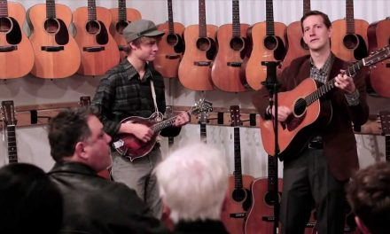 Church Street Blues – Chris Eldridge & Dominick Leslie at Retrofret Vintage Guitars