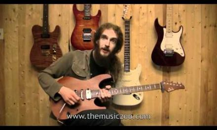 Guthrie Govan On His Signature Set Neck Suhr Guitar