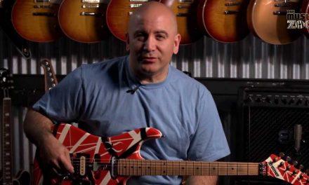 Up Close With Eddie Van Halen's 1980s Kramer Tour Guitar