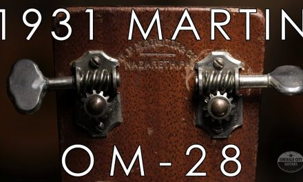 """Pick of the Day"" – 1931 Martin OM 28"