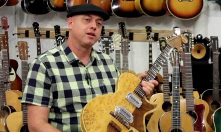 "Retrofret Presents: Restoration of the 1949 Bigsby ""Butterball"" Paige Solidbody Electric Guitar"
