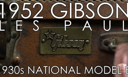 """Pick of the Day"" – 1952 Gibson Les Paul and 1930s National Model B"
