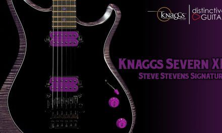 Knaggs Severn XF Steve Stevens Signature | Black & Purple