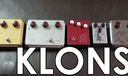 Klon Centaur, KTR, Centura, and Archer – side by side!