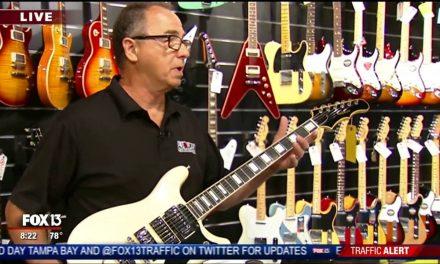 Tampa Guitar Store's Vintage Guitar Expert, Kent Sonenberg, on Charley's World