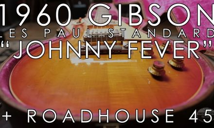 """Pick of the Day"" – 1960 Gibson LP Standard Johnny Fever and Roadhouse 45"