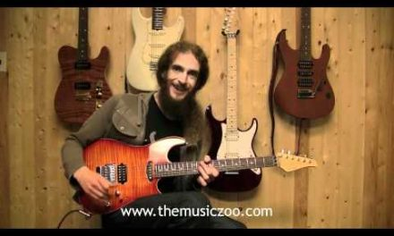 Guthrie Govan Demos A New Suhr Standard Series Guitar