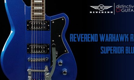 Reverend Warhawk RT | Superior Blue w/ Filtertrons & Bigsby
