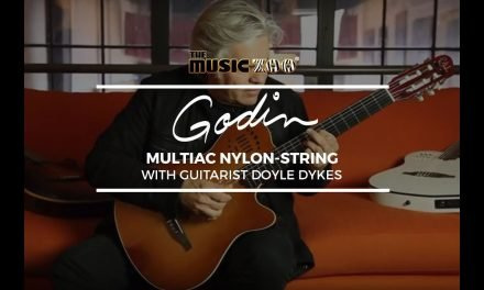 Doyle Dykes Demos The Godin Multiac Series Nylon At The Music Zoo