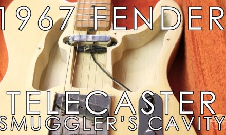 """Pick of the Day""- 1967 Fender Telecaster w/""Smuggler's Cavity"""