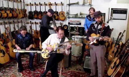 """Guitar Slingers""  by The Brain Cloud at Retrofret Vintage Guitars"