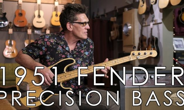 """""""Pick of the Day"""" – 1951 Fender Precision Bass"""