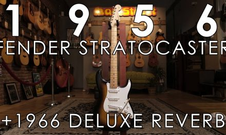 """Pick of the Day"" – 1956 Fender Stratocaster and 1966 Fender Deluxe Reverb"
