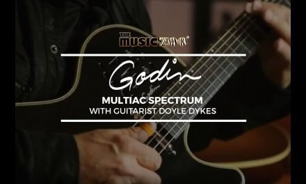 Doyle Dykes Demos The Godin Multiac Spectrum At The Music Zoo