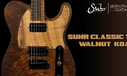 Suhr Classic T Custom Distinctive Select | Walnut & Koa