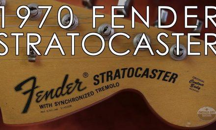 """Pick of the Day"" – 1970 Fender Stratocaster Black"