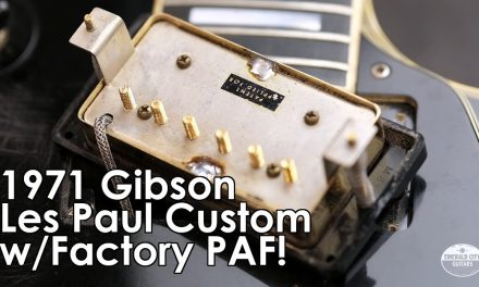 """Pick of the Day"" – 1971 Gibson Les Paul Custom w/Factory PAF"