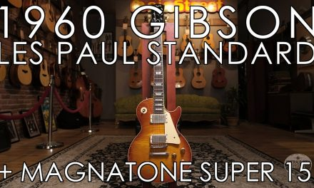 """""""Pick of the Day"""" – 1960 Gibson Les Paul Standard and Magnatone Super15"""