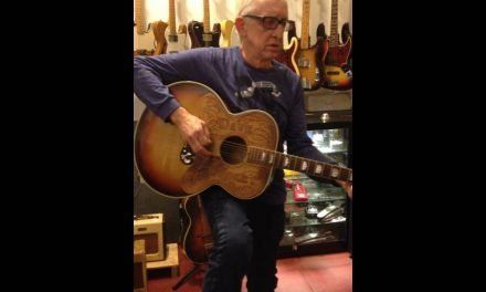 Bill Kirchen (Mr. Hot Rod Lincoln) playing 'Six Days On the Road' on Dave Dudley's Guitar