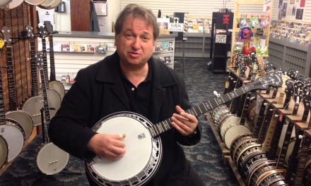 Jens Kruger Demonstrates the Deering Custom Sierra Banjo – Serial Number 100,000