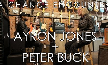 A chance encounter with Ayron Jones and Peter Buck!