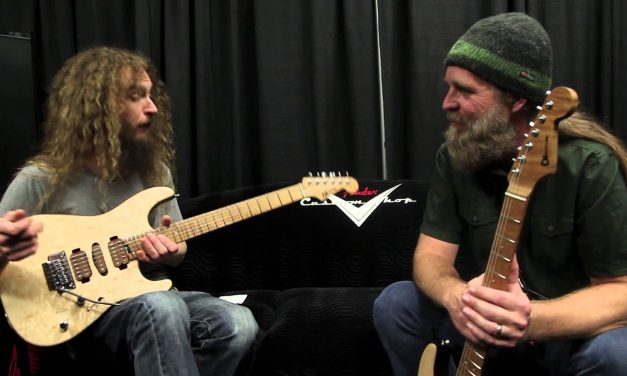 NAMM '15 Guthrie Govan and Chip Ellis Discuss Guthrie's Signature Charvel