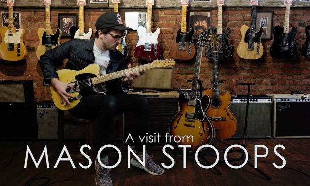 A visit from Mason Stoops