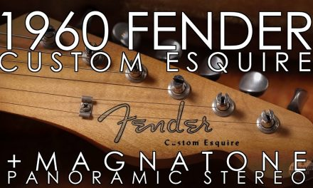 """Pick of the Day"" – 1960 Fender Esquire Custom and Magnatone Panoramic Stereo"