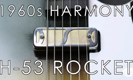"""Pick of the Day"" – 1960s Harmony H-53 Rocket"