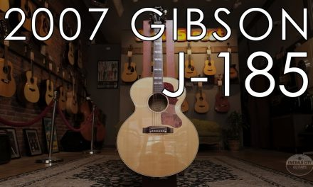 """Pick of the Day"" – 2007 Gibson J-185"