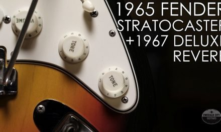 """Pick of the Day"" – 1965 Fender Stratocaster and 1967 Deluxe Reverb"