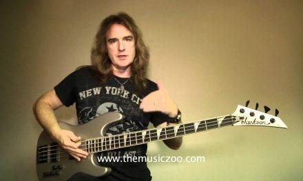 Megadeth's Dave Ellefson Demonstrates His Signature Jackson Bass
