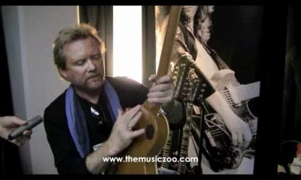 NAMM 2012: Lee Roy Parnell's Gibson Les Paul Goldtop