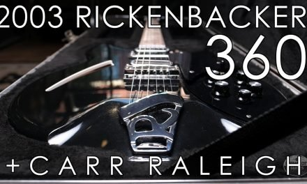 """Pick of the Day"" – 2003 Rickenbacker 360 and Carr Raleigh"