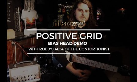 Positive Grid Bias Head Demo w/ Robby Baca Of The Contortionist