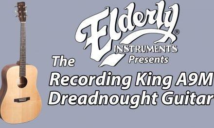 Recording King A9M Dreadnought Guitar  | Elderly Instruments