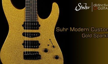 Suhr Modern Custom | Gold Sparkle