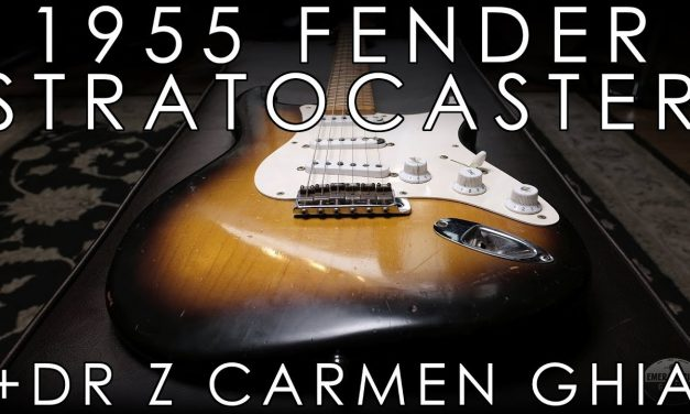 """Pick of the Day"" – 1955 Fender Stratocaster and Dr Z Carmen Ghia"