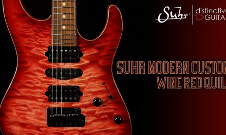 Suhr Modern Custom | Wine Red Quilt Top
