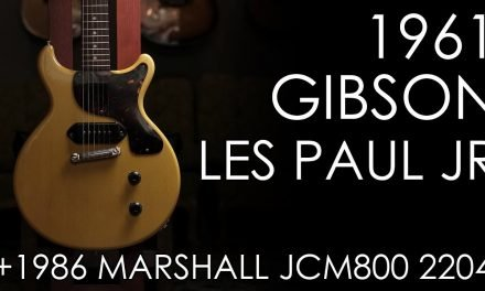 """""""Pick of the Day"""" – 1961 Gibson Les Paul Jr in TV Yellow and 1986 Marshall JCM800 2204"""