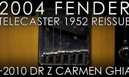 """Pick of the Day"" – 2004 Fender Telecaster 1952 Reissue  and 2010 Dr Z Carmen Ghia"