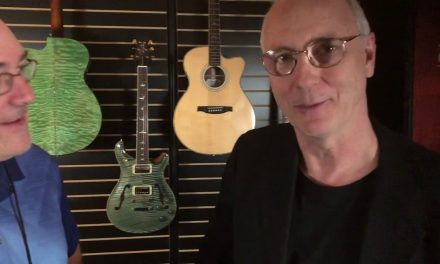 Paul Reed Smith and Jack Gretz at NAMM 2019