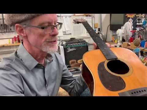 "In the Shop ""Pre-war Lefty Martin D-28"" April 4th, 2019 | Elderly Instruments"